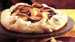 Peach-Plum Crostata