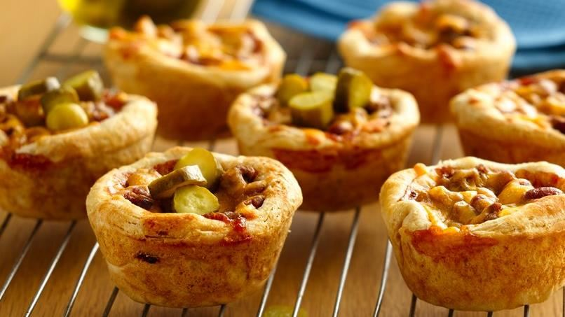 Grands!® Jr. BBQ Beef and Bean Cups