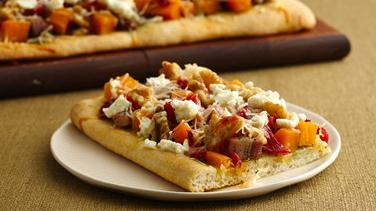 Butternut Squash-Pesto Pizza