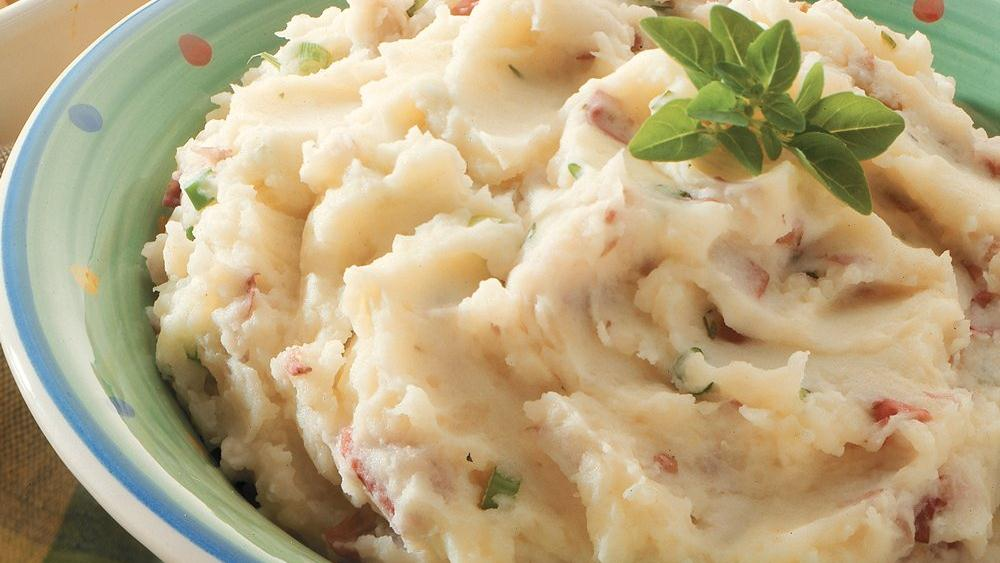 Skin-On Mashed Potatoes