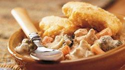 Cornbread-Topped Chicken Pot Pie