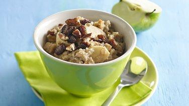 Gluten-Free Slow Cooker Double Apple Oatmeal
