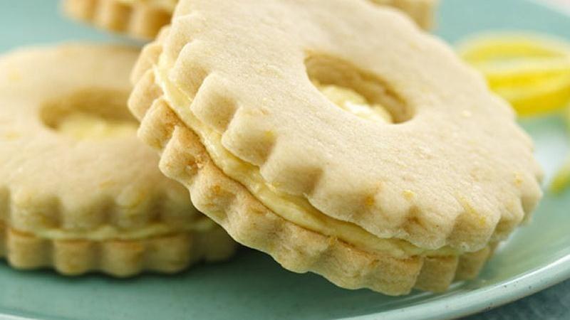 Lemon Sandwich Cookies recipe from Betty Crocker