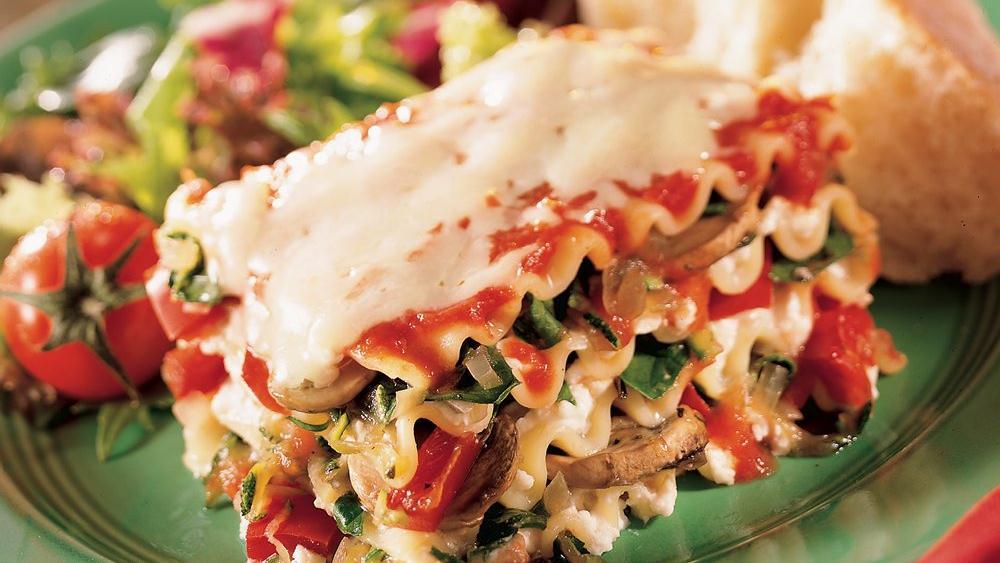 Italian Vegetarian Lasagna