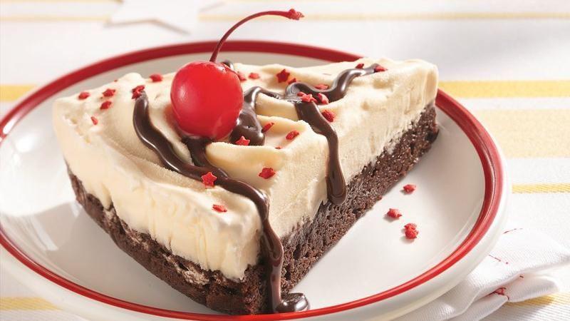 Brownie Ice Cream Cake recipe from Betty Crocker