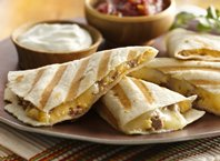 Beef and Potato Quesadillas