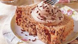 Low-Fat Mocha Angel Cake