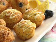 Lemon-Poppy Seed Mini-Muffins