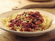 30-Minute Chili Spaghetti