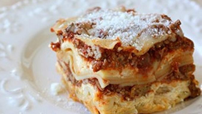 Easy Slow-Cooker Lasagna recipe - from Tablespoon!