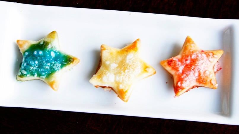 Patriotic Star Crackers