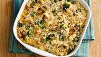 Cheesy Chicken, Broccoli and Rice Casserole