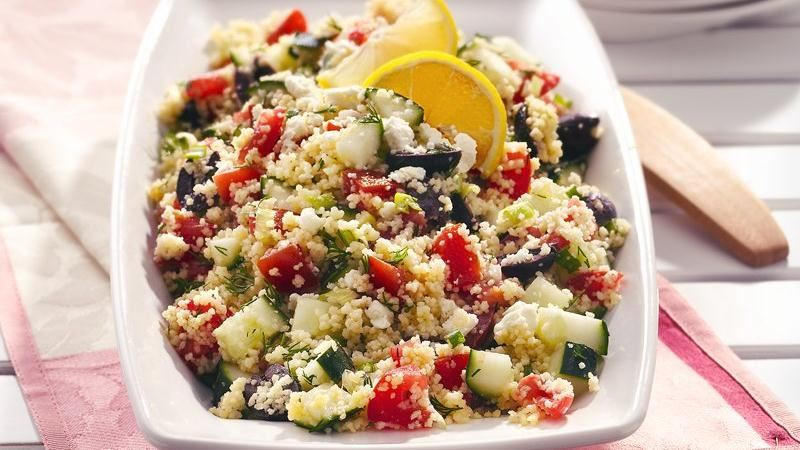 Mediterranean Couscous Salad Recipe From Betty Crocker