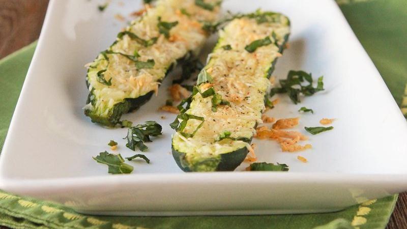 Parmesan Baked Zucchini