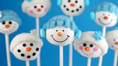 Bakerella's Snowman Cake Pops