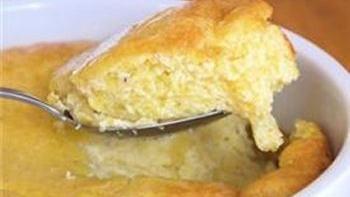 Sweet Corn Bread Pudding