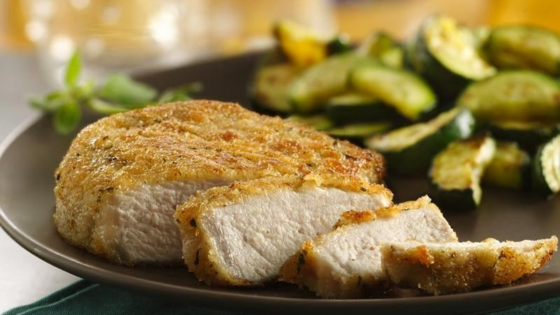 Italian Breaded Pork Chops recipe from Betty Crocker