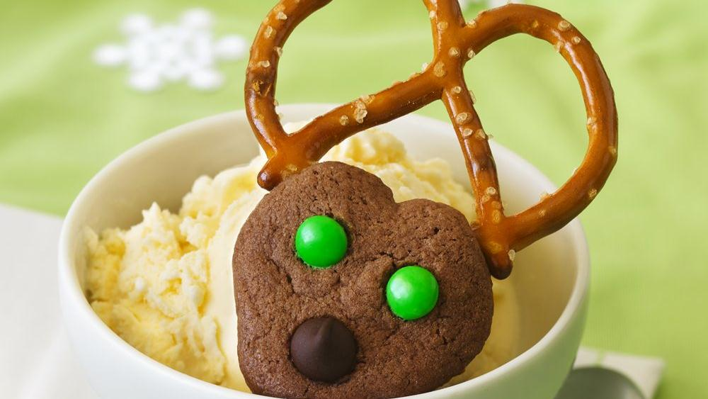 Chocolate Spritz Reindeer