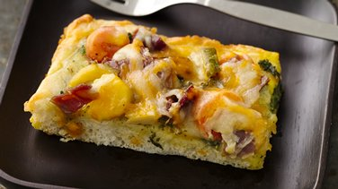 Mediterranean Breakfast Pizza