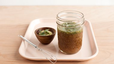 Easy Maple-Mustard-Rosemary Ham Glaze