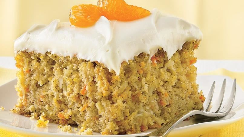 Carrot-Mandarin Orange Cake