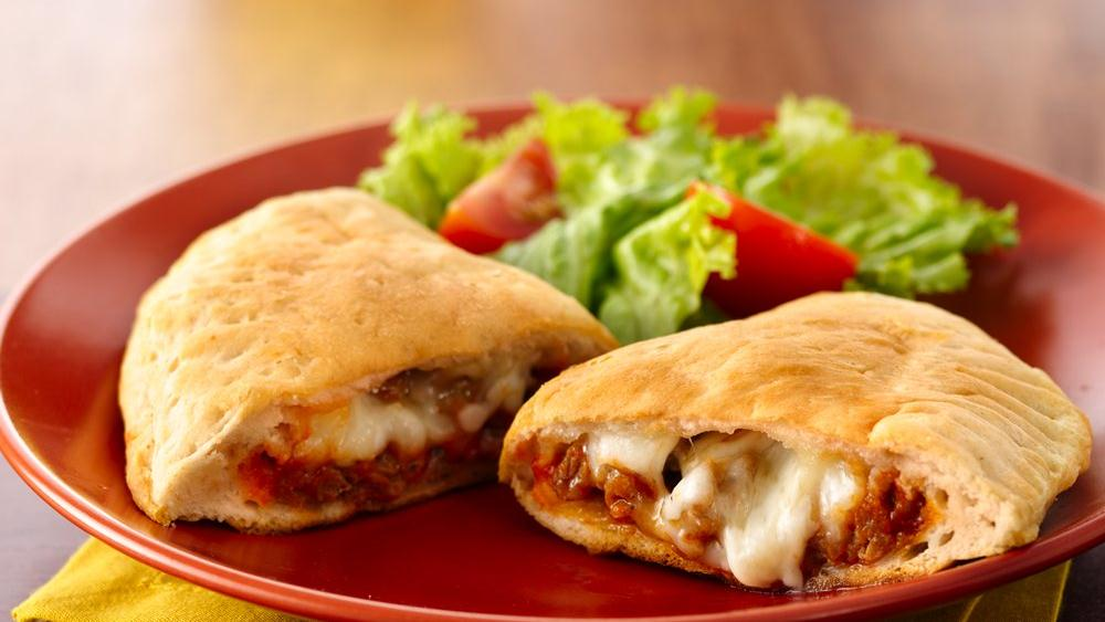 Grands!® Sausage Calzones recipe from Pillsbury.com