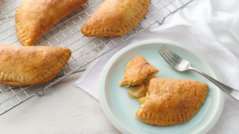 Oven-Fried Apple Pies