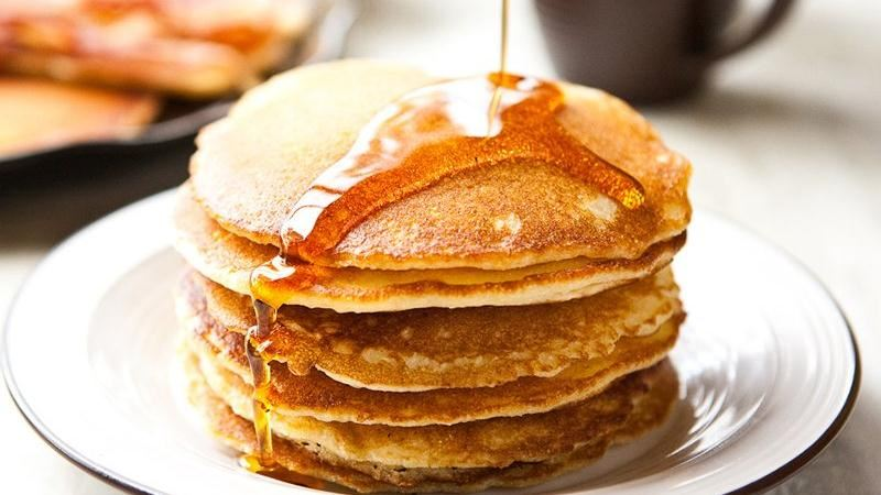 Cornmeal Pancakes With Ham Recipes — Dishmaps