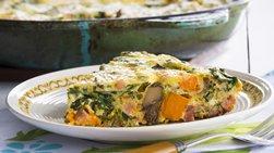Sweet Potato and Kale Frittata