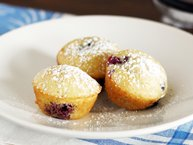 Blueberry Lemon Bisquick® Pancake Bites