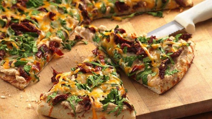 White Bean and Spinach Pizza recipe - from Tablespoon!