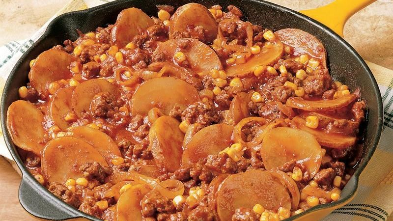 Sloppy Joe Skillet Dinner
