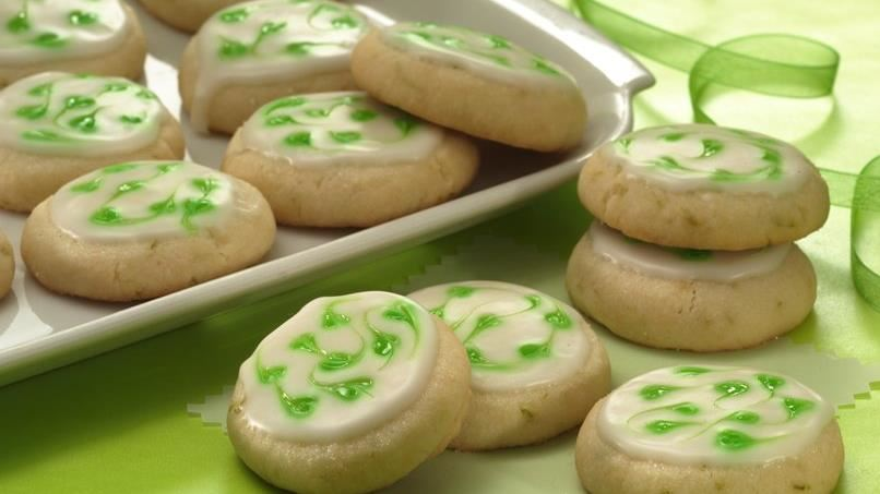 Holiday Lime Cooler Cookies (Cookie Exchange Quantity)