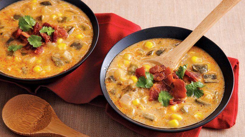 Spicy Mexican Corn Chowder