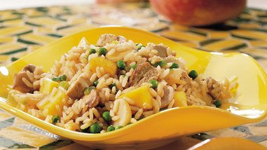 Gluten-Free Mango Pork Fried Rice