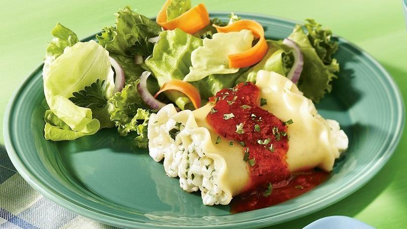 Make-Ahead Lasagna Rolls