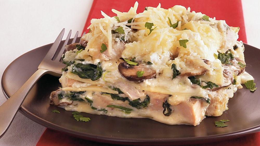 Turkey-Spinach Lasagna