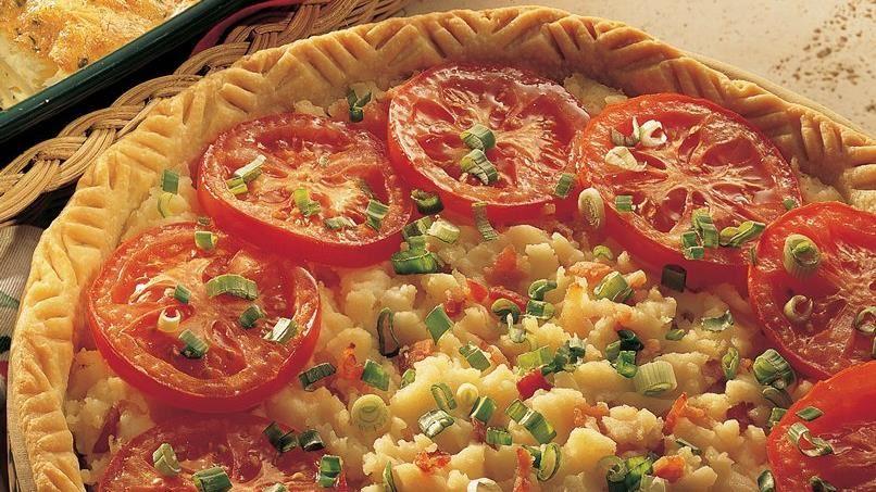 Savory Mashed Potato Pie