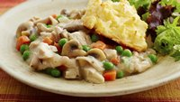Gluten-Free Cheddar Biscuit Chicken Pot Pie