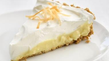 Cheerios® Skinny Coconut Cream Pie