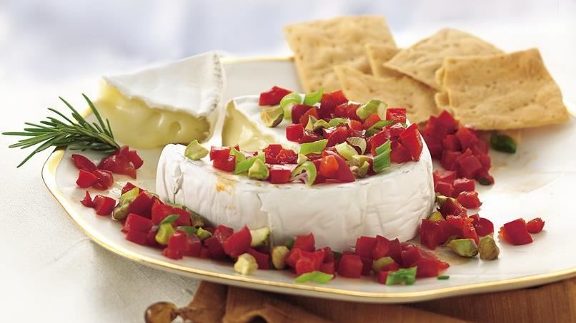 Camembert with Balsamic Bell Pepper