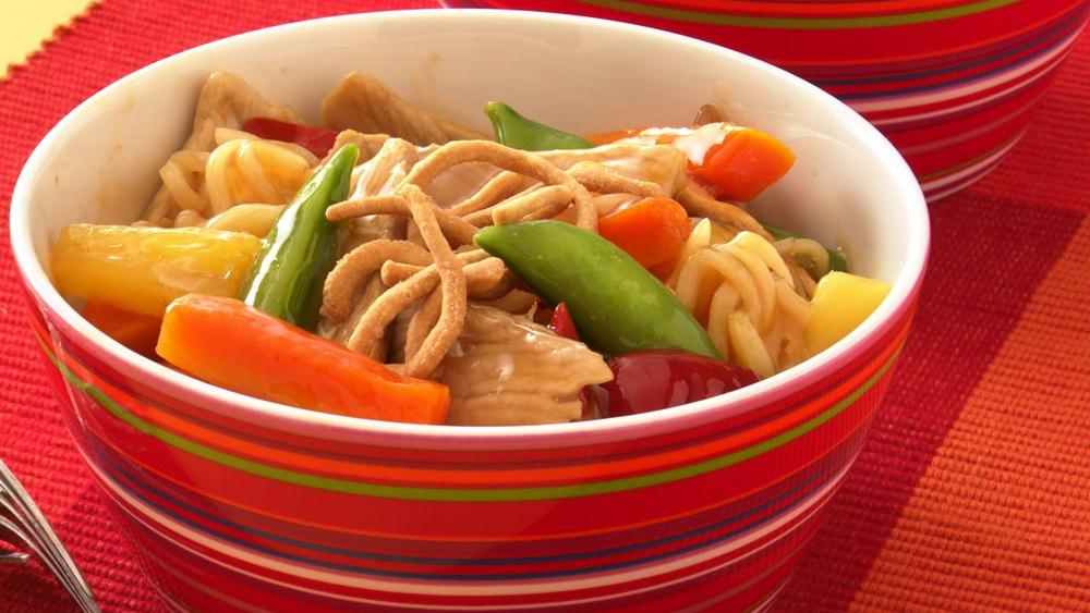 Sweet and Sour Pork and Vegetables