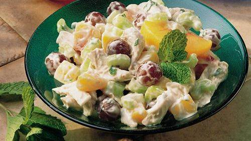 Chicken Pasta Salad with Grapes and Poppy Seed Dressing recipe from ...