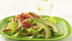 Tostada Chicken Salad