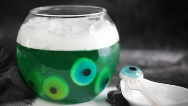 Eye of Newt Halloween Gelatin Bowl