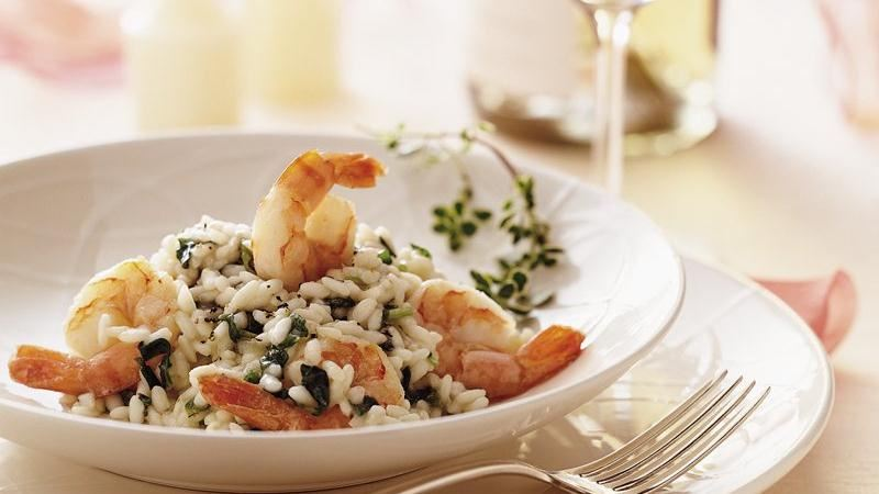 Champagne Shrimp Risotto
