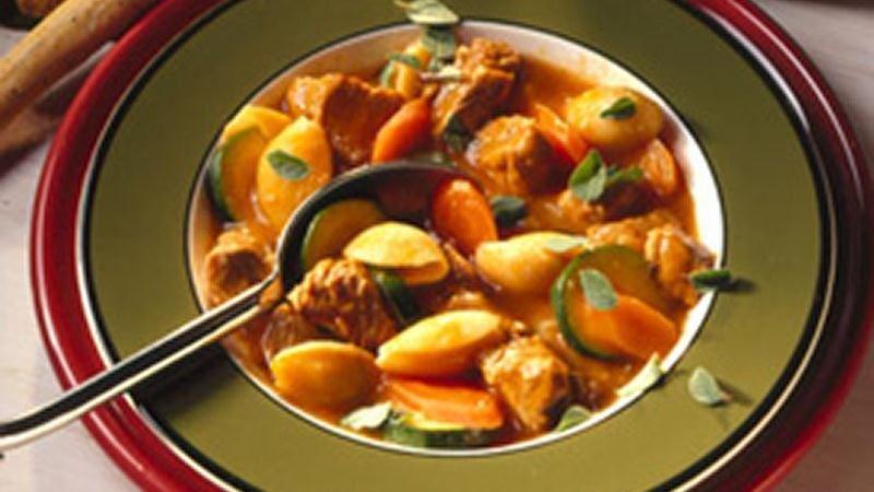Veal-Pasta Stew
