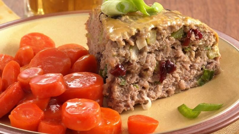 Easy Glazed Turkey Meatloaf