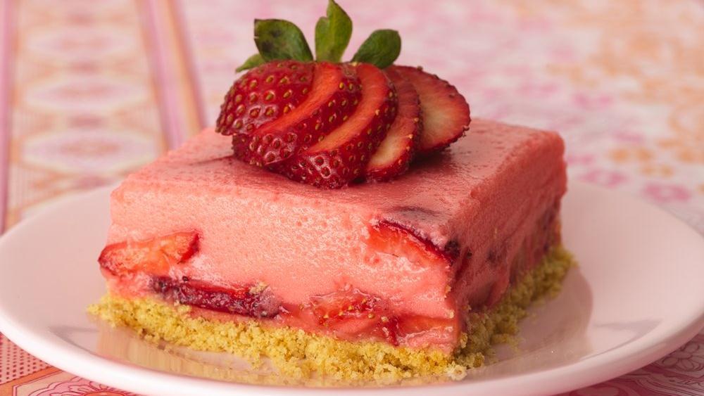 Triple Strawberry Dessert