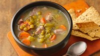 Healthy Split Pea Soup with Veggies